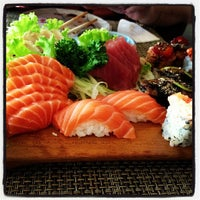 Photo taken at São Paulo - Tokyo Sushibar by Danielle F. on 2/16/2013