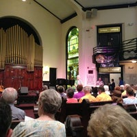Photo taken at The Great Aunt Stella Center by Christina V. on 6/14/2013