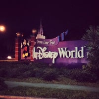 Photo taken at Walt Disney World Entrance by Alex G. on 11/1/2012