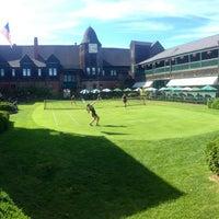 Photo taken at International Tennis Hall of Fame by Kasie C. on 10/20/2014