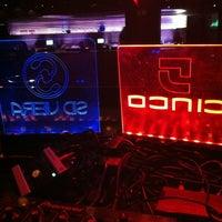 Photo taken at Cinco Club by DJ Sid V. on 10/28/2012