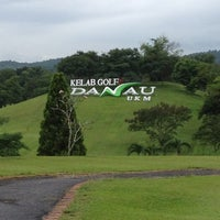 Photo taken at Danau Golf Club by Kayrul A. on 11/19/2012