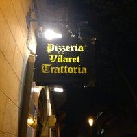 Photo taken at Pizzeria-Trattoria Vilaret by Popa on 10/6/2014