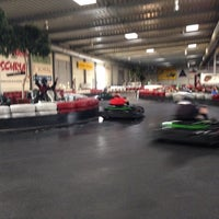 Photo taken at Kartcenter Kottingbrunn by Robert-P. P. on 7/17/2014