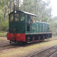 Photo taken at hotham valley railway by Scott A. on 8/23/2014
