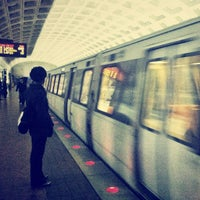 Photo taken at Foggy Bottom-GWU Metro Station by Julio C. on 12/7/2012