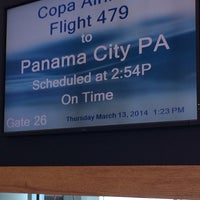 Photo taken at Gate 26 by Ana H. on 3/13/2014