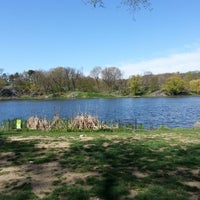 Photo taken at Central Park - Harlem Meer by Shawn L. on 4/25/2013