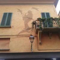 Photo taken at Via D'Azeglio by Chiara L. on 2/16/2014