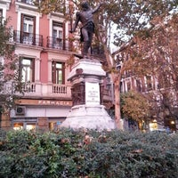 Photo taken at Plaza del Rey by Camilo C. on 11/27/2012