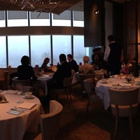 Photo taken at Asiate at Mandarin Oriental, New York by Vic Z. on 12/8/2012