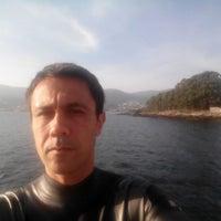 Photo taken at Praia de Campelo by Ricardo O. on 10/3/2014