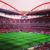 Photo taken at Estádio do Sport Lisboa e Benfica by Tiago R. on 5/2/2013