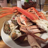 Photo taken at Captain George's Seafood Buffet by David on 1/11/2015