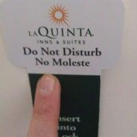 Photo taken at La Quinta Inn Champaign by Elizabeth on 4/25/2014