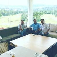 Photo taken at Sentul Highlands Golf Club by Arie K. on 1/14/2016