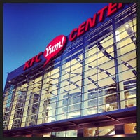 Photo taken at KFC Yum! Center by Paul E. on 3/9/2013