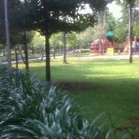 Photo taken at Taman Menteng by andhini p. on 5/24/2013