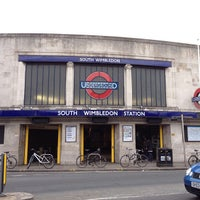 Photo taken at South Wimbledon London Underground Station by Anabel M. on 3/29/2013