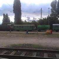 Photo taken at Rákosrendező vasútállomás by Balázs H. on 6/26/2013