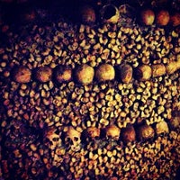 Photo taken at Catacombs of Paris by Josh W. on 7/29/2013
