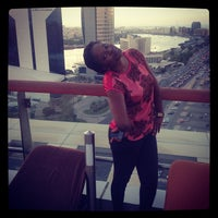 Photo taken at Hilton Dubai Roof Pool by Ivy A. on 10/23/2013