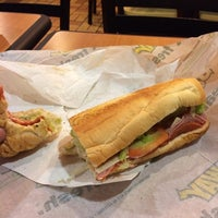Photo taken at Subway by George B. on 10/14/2013