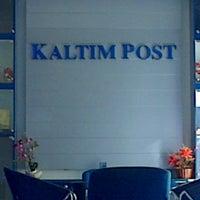 Photo taken at Kaltim Post Samarinda by Rahmahyanti S. on 11/6/2013