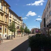 Photo taken at Lannova Třída by Teddy B. on 7/6/2014