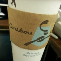 Photo taken at Caribou Coffee by Jessica R. on 3/20/2013