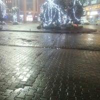 Photo taken at Cumhuriyet Meydanı by Nusret Ç. on 1/17/2016