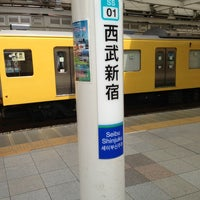 Photo taken at Seibu-Shinjuku Station (SS01) by Toshihiko K. on 7/20/2013