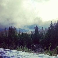 Photo taken at Cypress Mountain Lookout by Kaishin C. on 12/14/2012