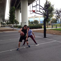 Photo taken at Berry Basketball Courts by Joel G. on 5/8/2014