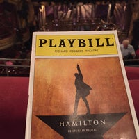 Photo taken at Richard Rodgers Theatre by Nu W. on 11/1/2015