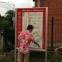 Photo taken at Ping Tom Memorial Park by Malik T. on 8/22/2013