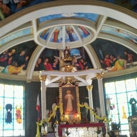 Photo taken at National Shrine of the Divine Mercy by jovelyn s. on 4/23/2013