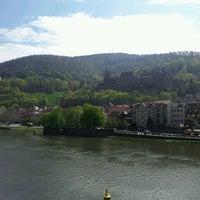 Photo taken at Alte Brücke by Sofya Z. on 5/3/2013