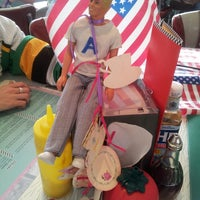 Photo taken at Woodies Longboard Diner by Louise D. on 6/30/2013