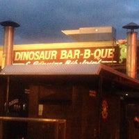 Photo taken at Dinosaur Bar-B-Que by Steven B. on 5/25/2013