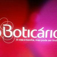 Photo taken at o boticario by Camilla Souza #. on 4/22/2013