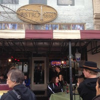 Photo taken at Bistro 1896 by Keith T. on 11/23/2012