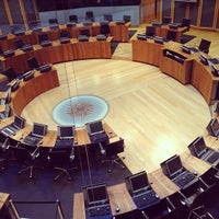 Photo taken at The National Assembly for Wales by Richard D. on 4/20/2013