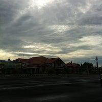 Photo taken at Bandara Fatmawati Soekarno (BKS) by Ananta P. on 5/27/2013