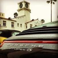 Photo taken at Beverly Hills Porsche Showroom by JayChan on 2/19/2013