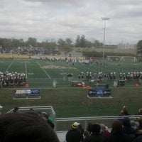 Photo taken at Brown Field by Joshua W. on 10/6/2012