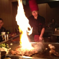 Photo taken at Sumo Japanese Steakhouse & Sushi by Tyler R. on 1/1/2013