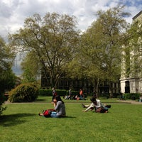 Photo taken at Bloomsbury Square by AlexShuga on 5/16/2013