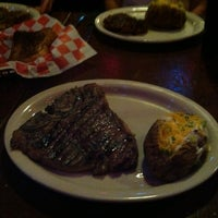 Photo taken at Parker Brother's Traildust Steakhouse by Hyde M. on 6/20/2014