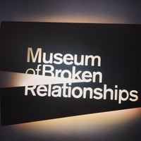 Photo taken at Museum of Broken Relationships by Mayra J. on 7/11/2013